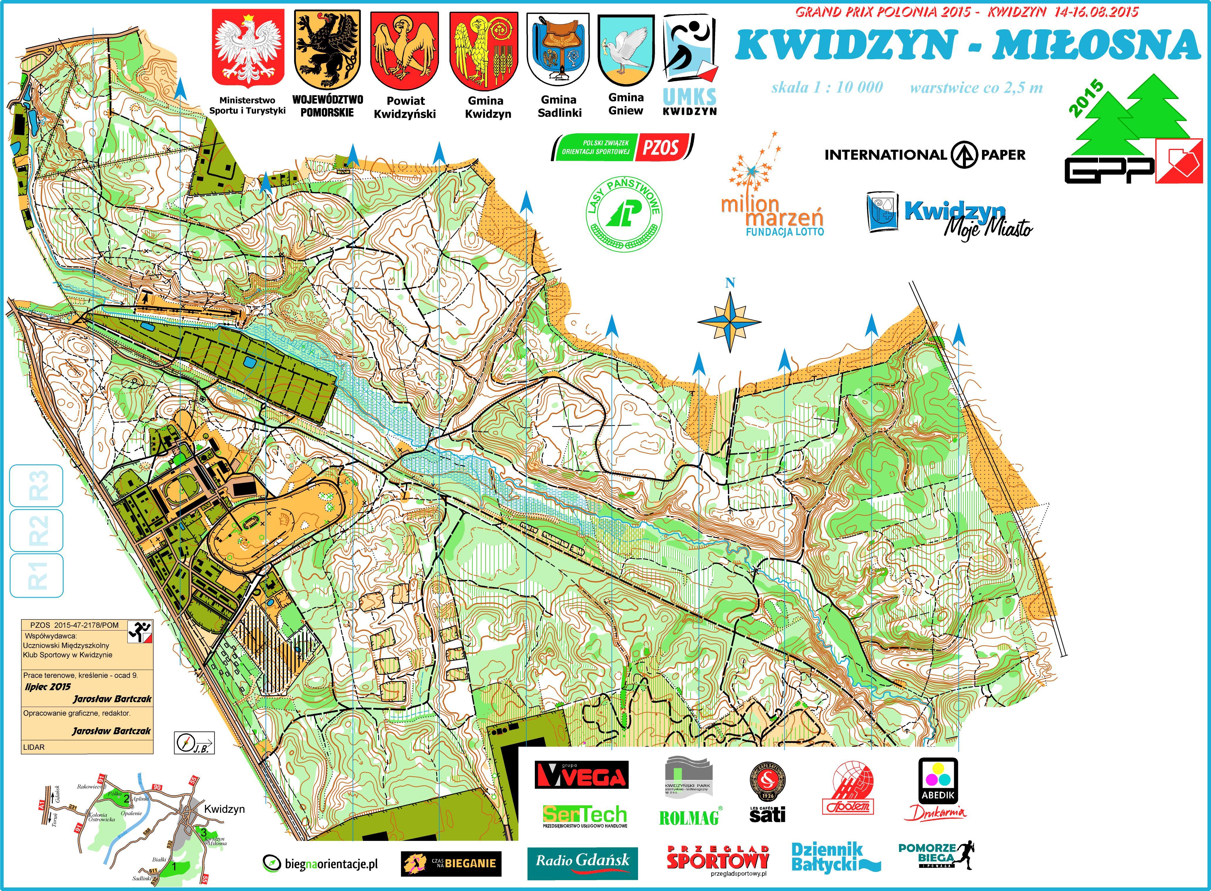 Mapy W Polsce Do Orientacji Sportowej Zielonysport Pl Polski